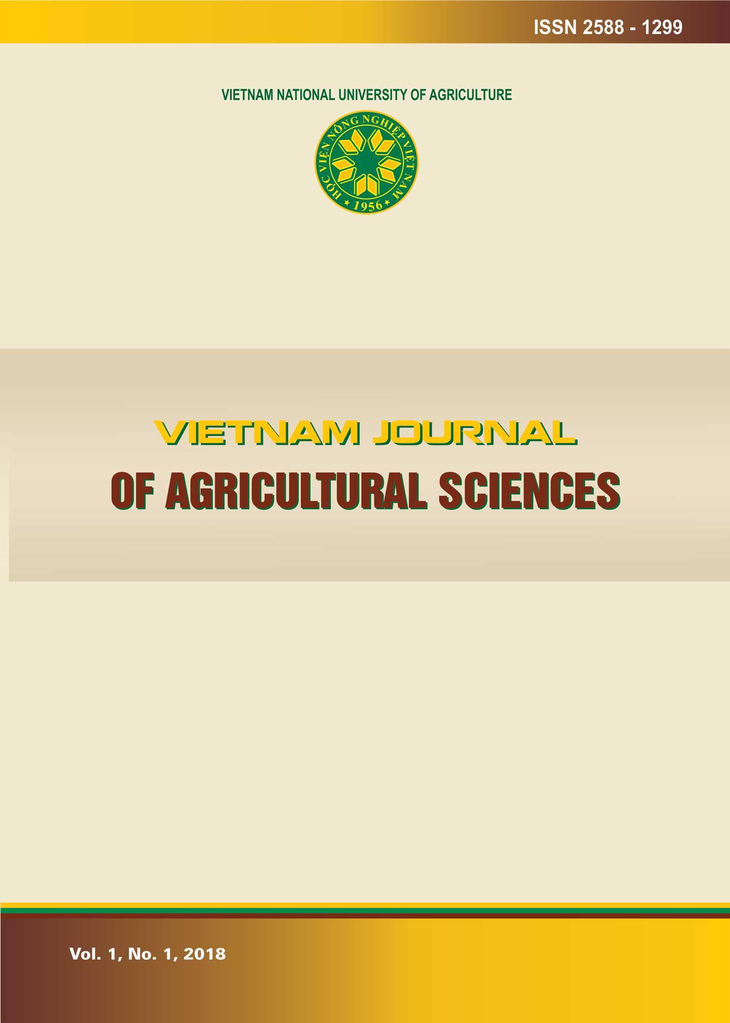 Vietnam Journal of Agricultural Sciences