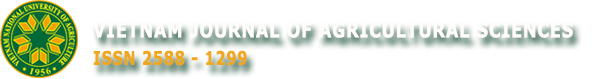 Vietnam Journal of Agricultural Sciences