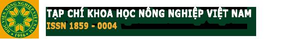Tạp chí Khoa học Nông nghiệp Việt Nam